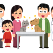 ペットと家族